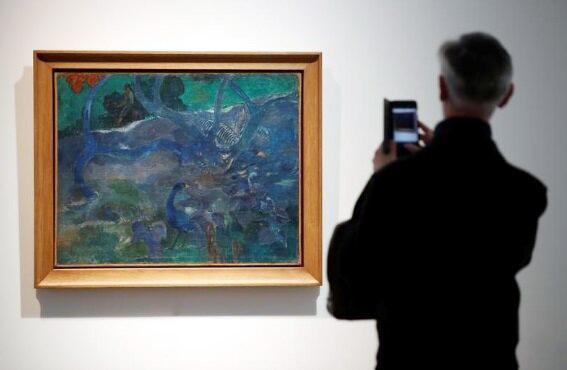 فروش چند میلیونی نقاشی «گوگن»