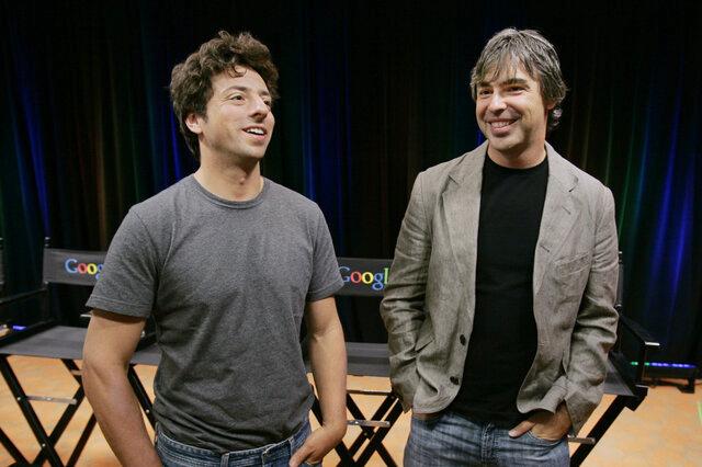 کناره گیری بنیانگذاران گوگل
