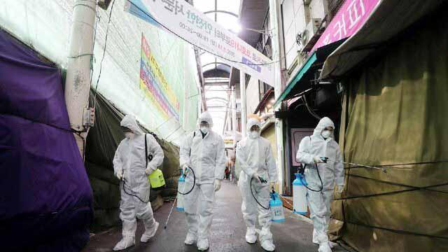 افزایش نگرانی مردم کره جنوبی از کرونا