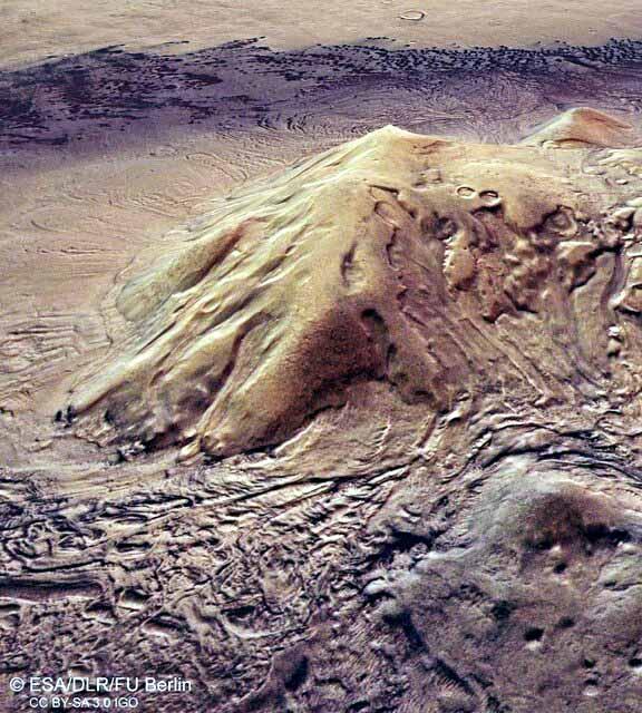 ادعای وجود قارچ در مریخ