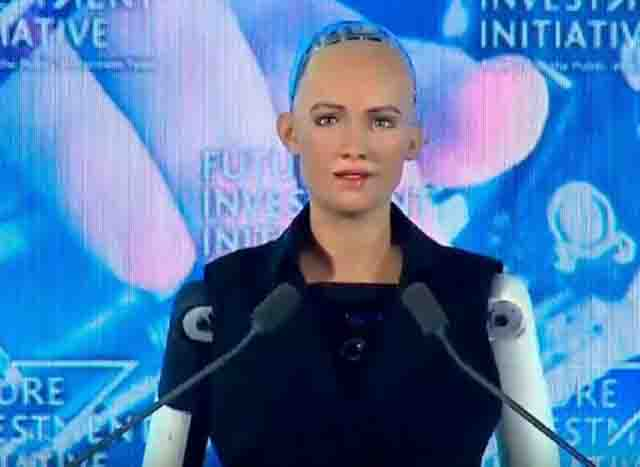 سوفیا، رباتی سه ساله با کارهای خارقالعاده